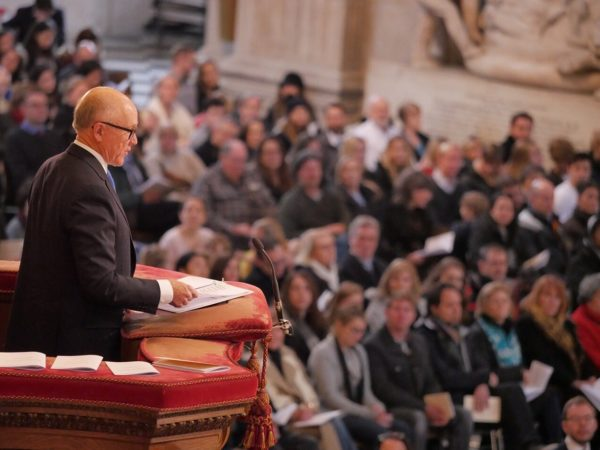 Ambassador Johnson delivers Thanksgiving Day remarks at St Paul's cathedral, November 22, 2018