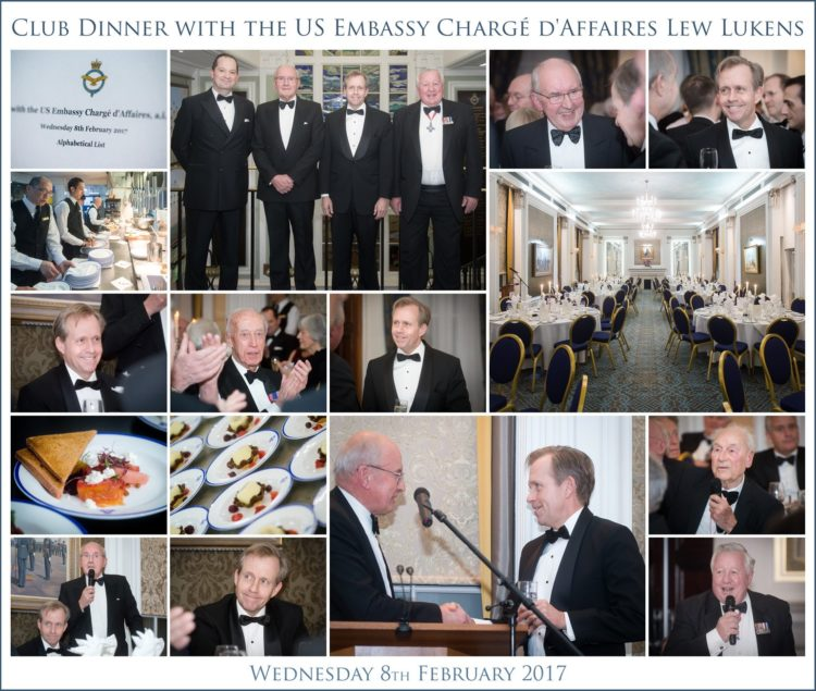 U.S. Embassy London Charge D'Affaires Lew Lukens was the Guest of Honour at the RAF Club evening reception on the subject of the US & UK relationship (image courtesy @The RAFClub)